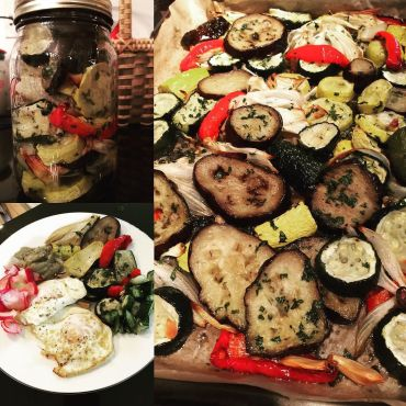 rosted vegetables
