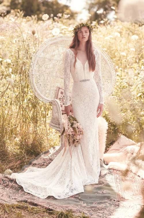Medium Of Long Sleeve Wedding Dress