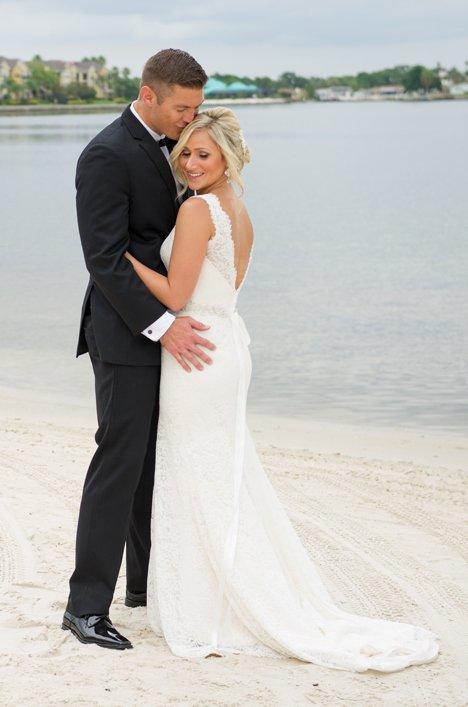 Real Bride Tampa Florida -Jenna and Sean | Mikaella Bridal