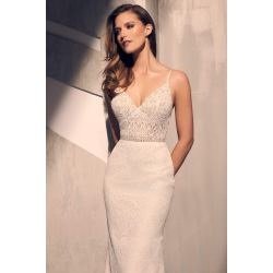 Small Crop Of Lace Wedding Dress