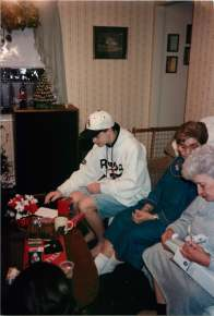 One of the few Christmases with both Mom's Mom and Dad's Mom