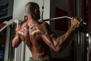 high density training - pulldowns