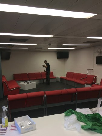 Swissport Welfare Seating Complete