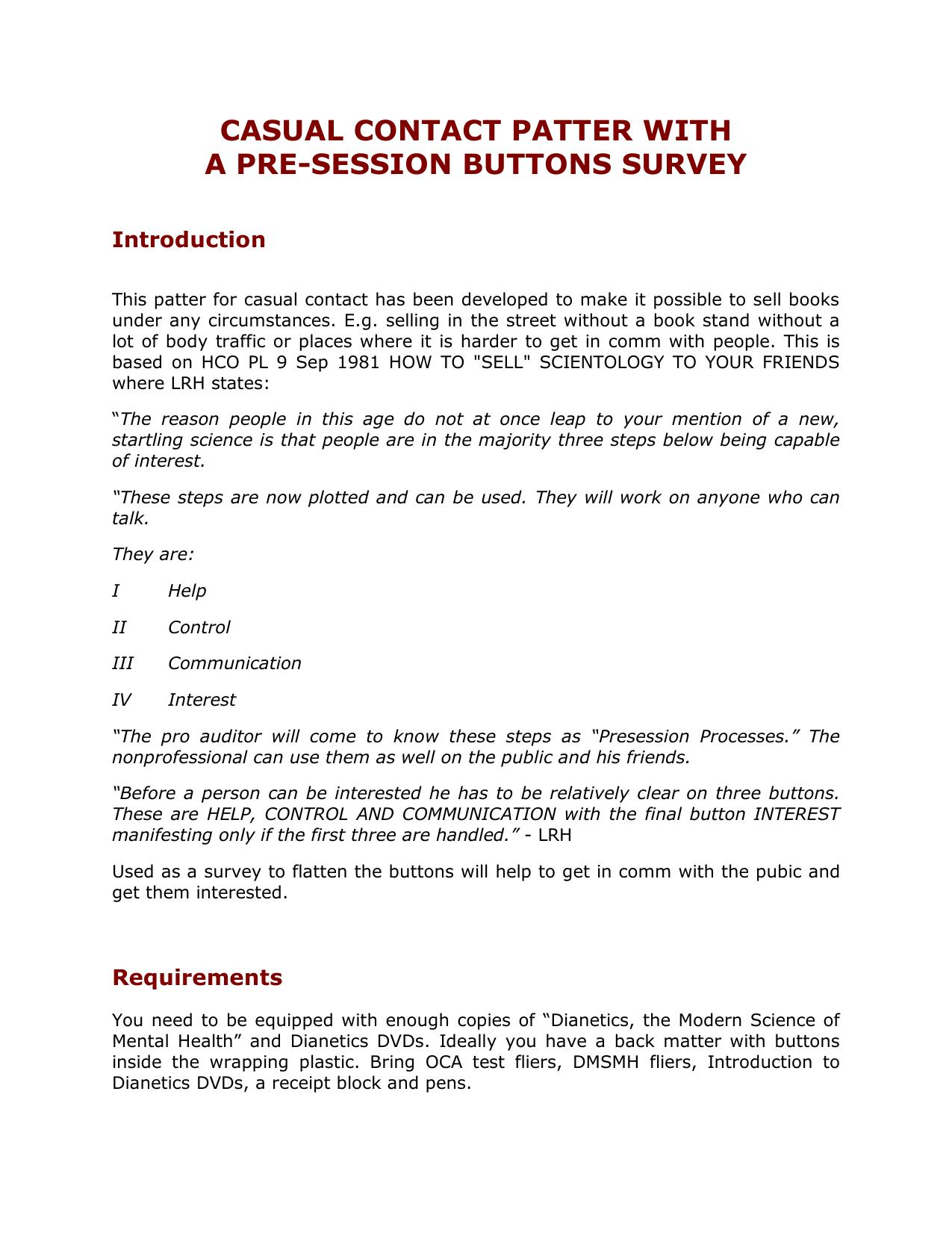 Pre-Session Survey Patter001