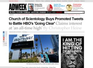 Scientology Twitterfails