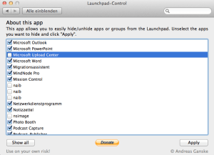 launchpad screenshot 300x217 Take control of Lions Launchpad