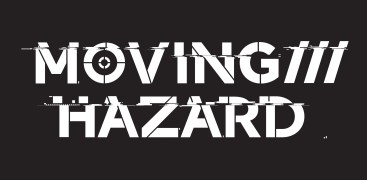 moving hazard logo