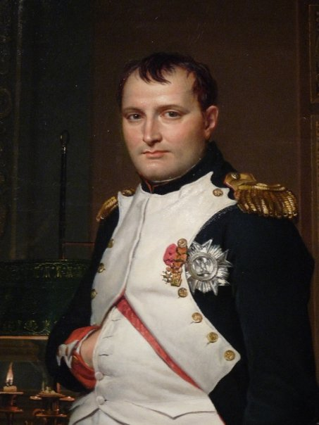 Napoleon by David , National Portrait Gallery