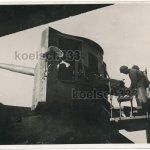 138mm Mle1893 sur affut Mle1893-16 ex-french coastal gun in Italian service in Korsika-