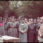 Adolf Hitler generals wehrmacht color hugo jaeger staff officers