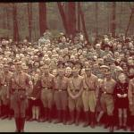 Celebration of Hitler's 50th birthday in Berling.