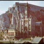 Dinant during the German invasion of Belgium.