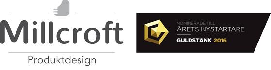 Industridesign - Produktdesign Stockholm, Göteborg, Malmö, Västerås, Örebro, Uppsala & Eskilstuna| Millcroft AB Logo