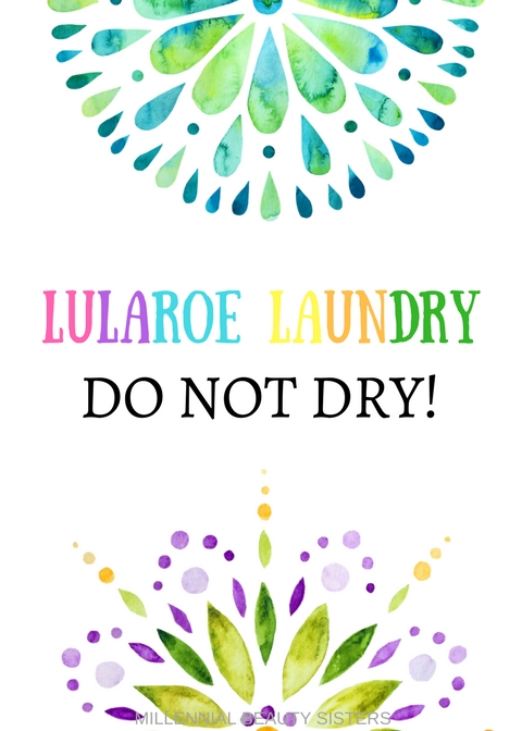 If you love LuLaRoe then you know how important proper care can be. This LuLaRoe laundry sign will alert everyone to what's in the washer!