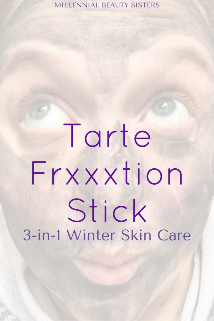 Tarte Frxxxtion Stick is a must have in my winter skin routine. I can't live with dry, itchy, uneven skin all winter long! This is how I avoid all of that.