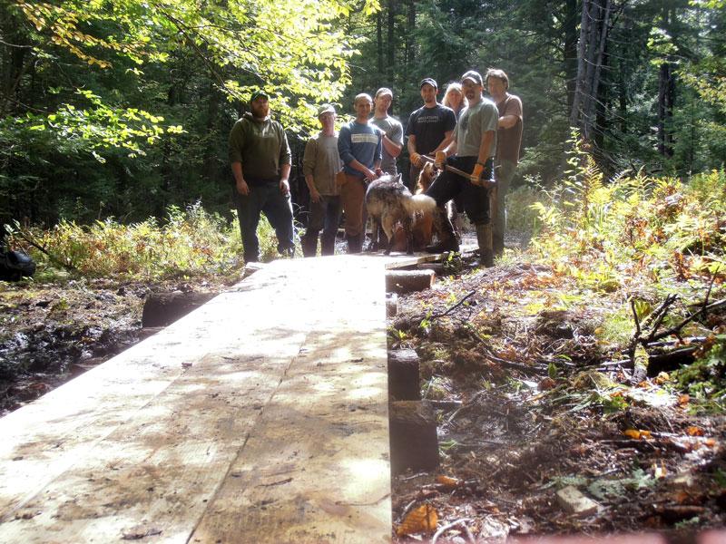 "Recent Trail Work: Mainline ""Bypass"" Trail"
