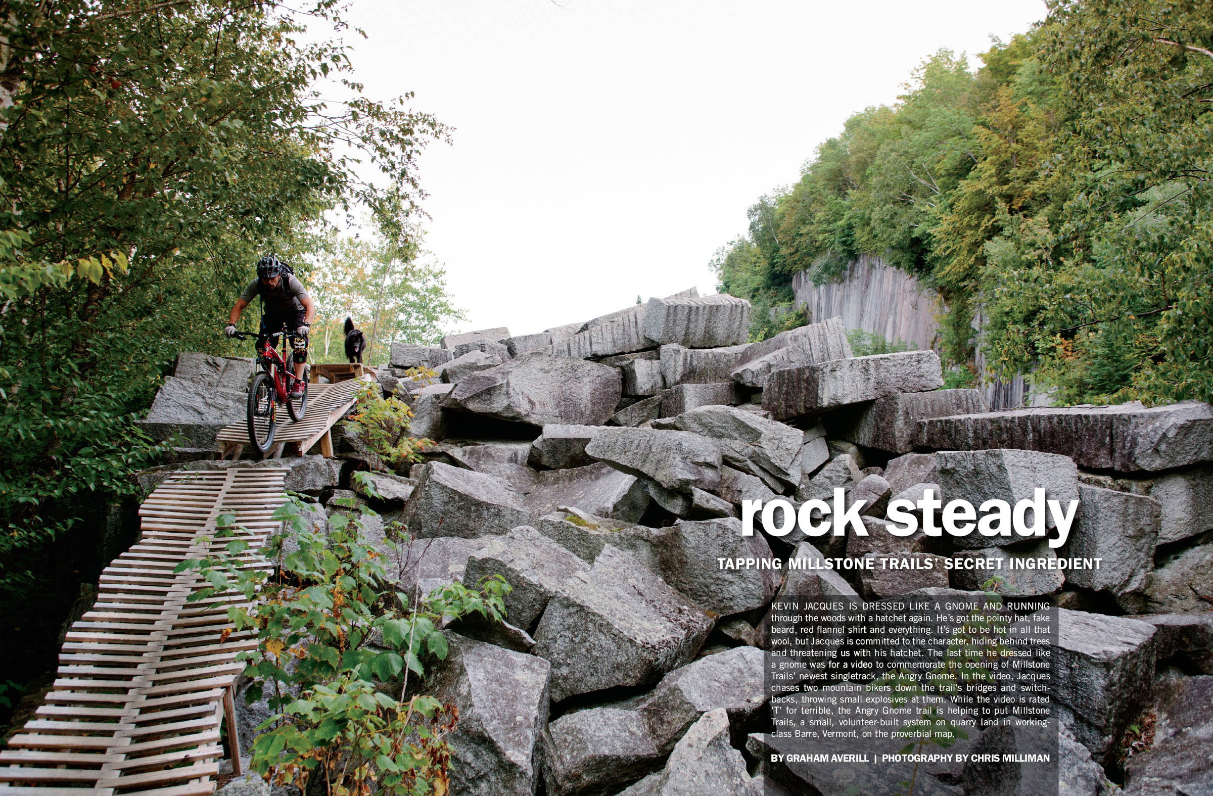 Rock Steady: Tapping Millstone Trails' Secret Ingredient