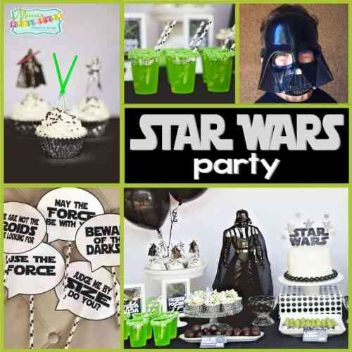 Medium Of Star Wars Party