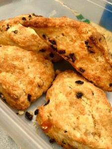 Mandarin Orange-Currant Scones