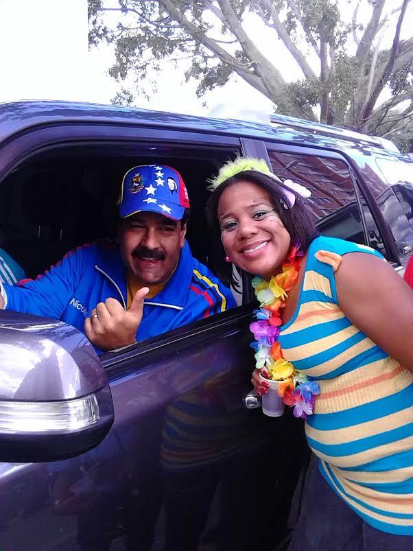 Presidente Maduro se unió a celebración del Carnaval en el urbanismo socialista Ciudad Tiuna