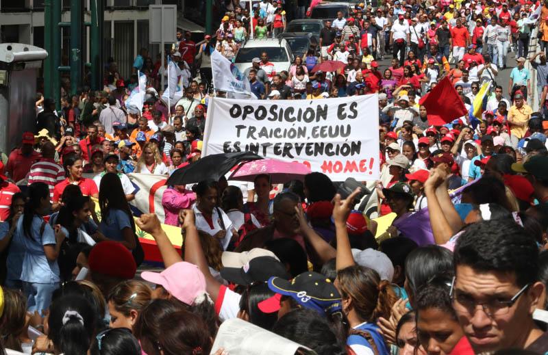Mujeres venezolanas alzaron su voz en rechazo a la violencia política