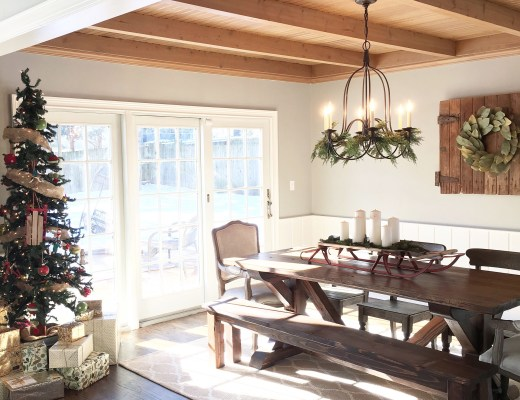 Christmas Dining Room Tour – Mindfully Gray