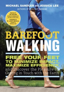 Barefoot Walking Book by Creator of Mindful Running Training Program Michael Sandler