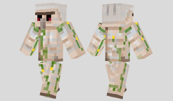 Iron Golem Skin for Minecraft