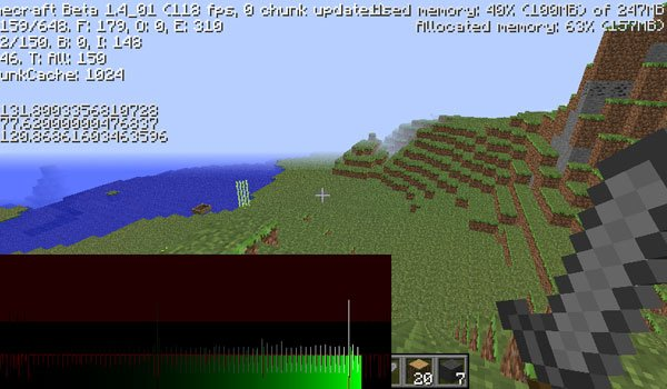 Optifine Mod for Minecraft 1.7.2 and 1.7.10
