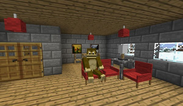 Furniture Mod for Minecraft 1.6.2 and 1.5.2