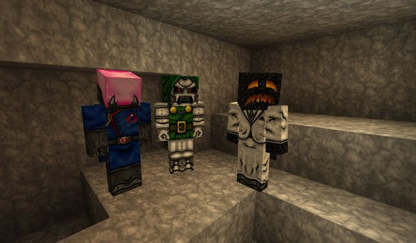 HD Player Skins Mod for Minecraft 1.5.1