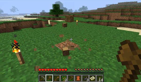 Timber Mod for Minecraft 1.6.2 and 1.5.2