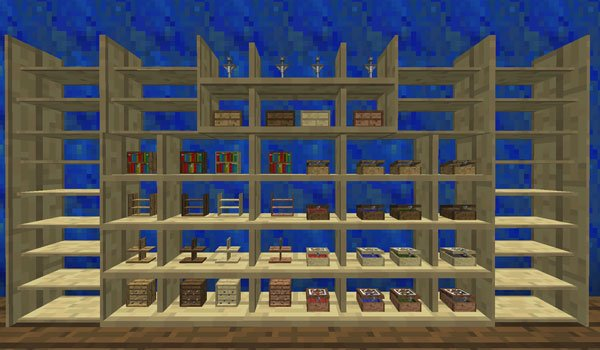 BiblioCraft Mod for Minecraft 1.7.10 and 1.7.2