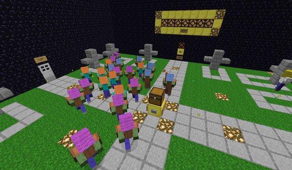 Graveyard Defense 2 Map for Minecraft 1.5.1