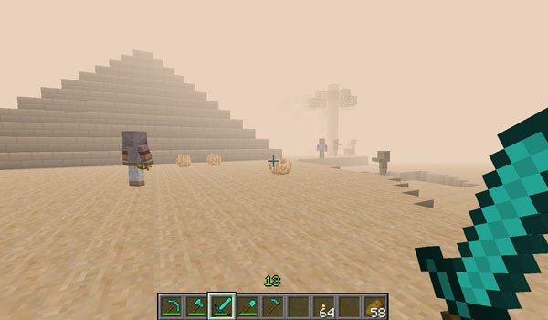 Atum: Journey Into The Sands Mod for Minecraft 1.7.2 and 1.7.10