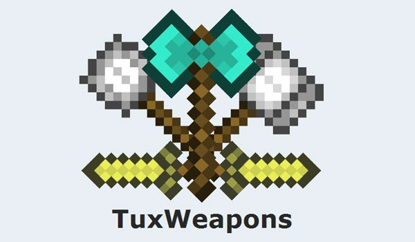 Tux Weapons Mod for Minecraft 1.6.2 and 1.6.4