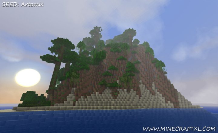 Minecraft Seeded Survival Island 11  Apps Directories.Minecraft Book Survival Guide