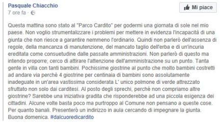 PostChiacchio