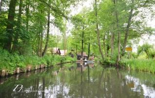Drifting in waters of Spreewald | Germany