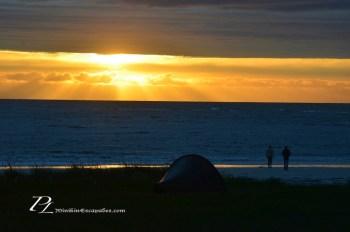 gimsoy-beach-midnight-sun