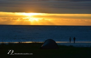 Chasing midnight sun in the arctic, Lofoten islands
