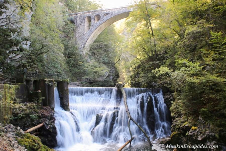 VIntagr gorge waterfall