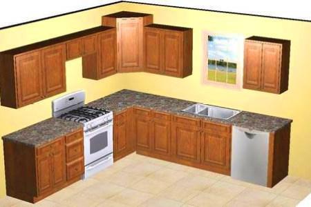 10x10 kitchen plans 1