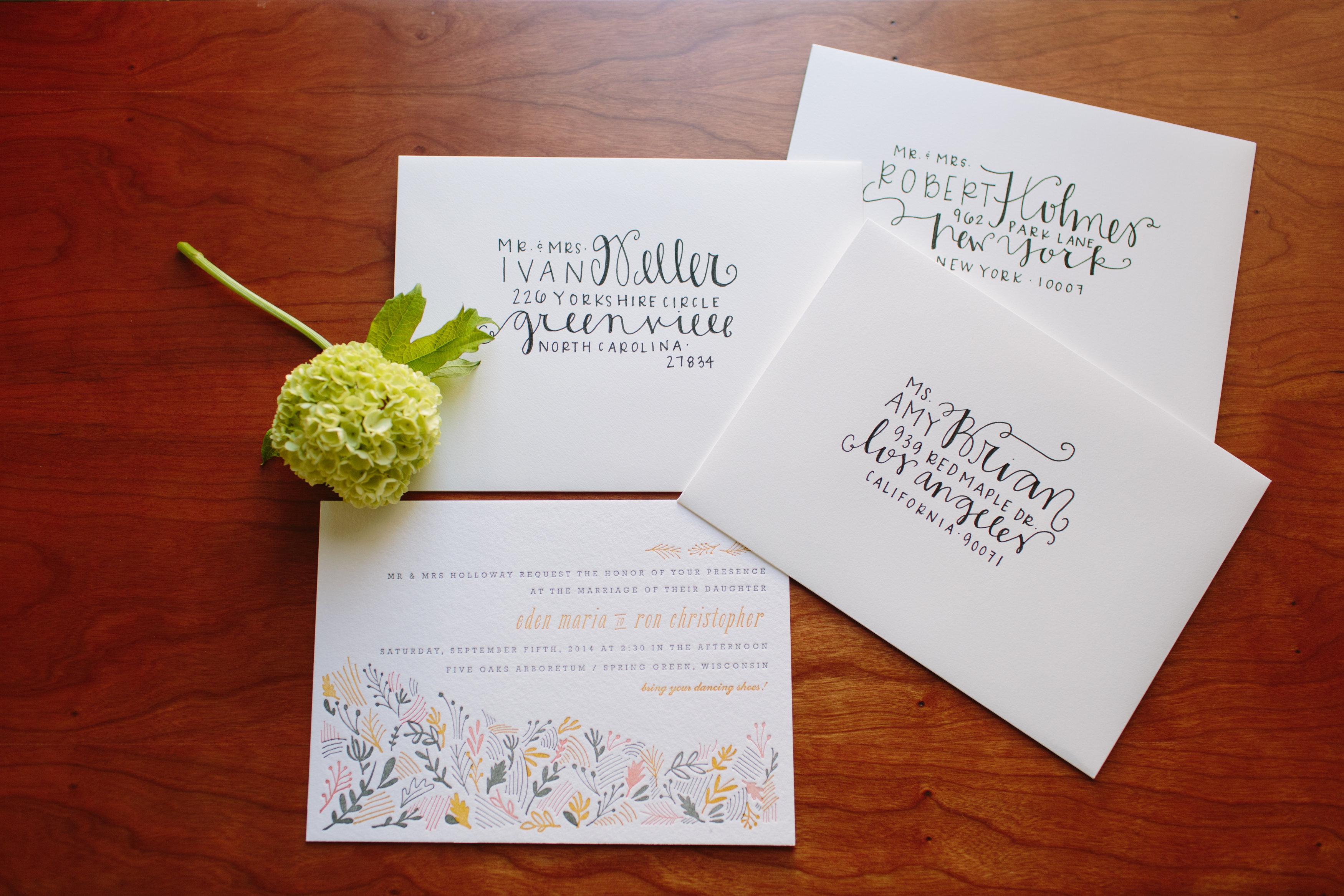 diy wedding envelope addressing tips wedding invitation envelopes I
