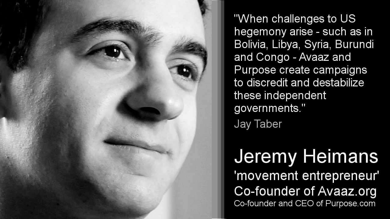 Jeremy Heimans Avaaz