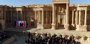 Syrie : Un orchestre symphonique russe en concert dans les ruines de Palmyre