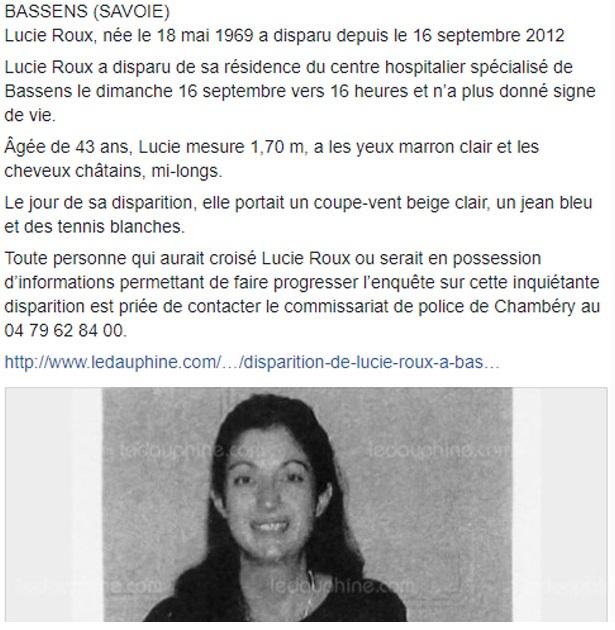 Une femme disparue en 2012 aurait eu des contacts avec Nordahl Lelandais