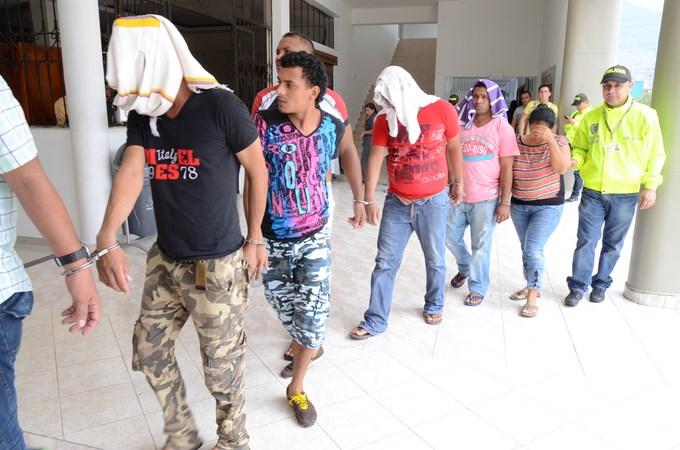 DSC 4412 Copiar Capturados en Caucasia, 13 integrantes de la banda Criminal Urabá