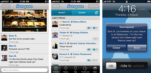 foursquare for iOS