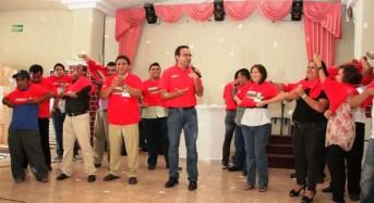 """Orlando Pérez """"Centavito"""" y 600 panistas se viran con Rolo y Nerio"""